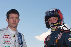 Sébastien Ogier and Thierry Neuville