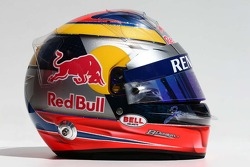 The helmet of Jean-Eric Vergne, Scuderia Toro Rosso