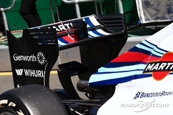 Valtteri Bottas, Williams FW36 rear wing