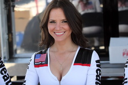 A lovely WeatherTech girl