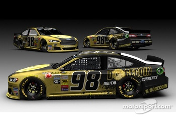 Josh Wise Dogecoin car