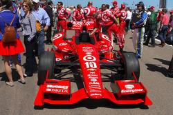 Car of Tony Kanaan, Target Chip Ganassi Racing Chevrolet