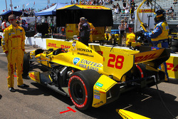 Car of Ryan Hunter-Reay, Andretti Autosport Honda