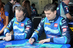 Airwaves Racing Duo Mat Jackson And Fabrzio Giovanardi