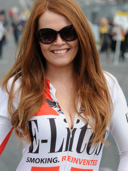 Alcosense Breathalysers Racing Grid Girl