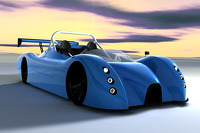 Bluebird unveils electric car
