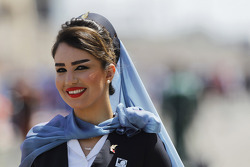 A Gulf Air hostess