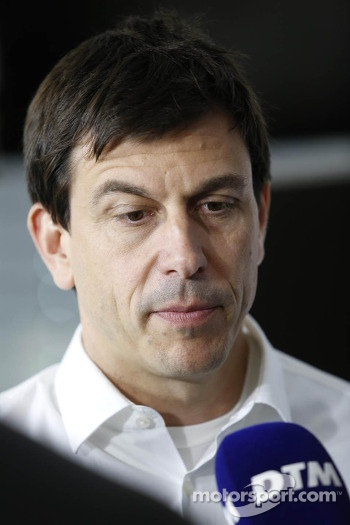 Toto Wolff, Sporting Director Mercedes-Benz