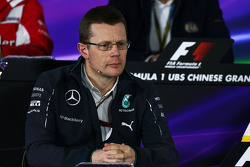 Andy Cowell, Mercedes-Benz High Performance Powertrains Managing Director in the FIA Press Conference