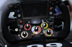 Sauber C33 steering wheel of Adrian Sutil, Sauber
