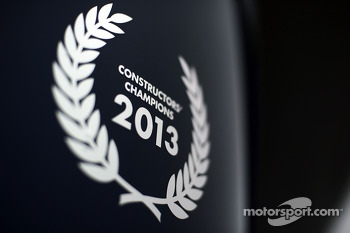 Constructors' Champions logo for Red Bull Racing