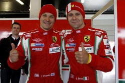 Pole GTE Pro Class: Toni Vilander, Gianmaria Bruni