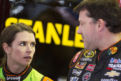 NASCAR-CUP: Danica Patrick and Tony Stewart