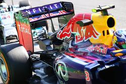 Daniel Ricciardo, Red Bull Racing RB10 rear wing