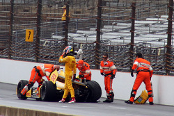 Trouble for Ryan Hunter-Reay, Andretti Autosport Honda