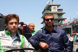 Carlos Munoz, Andretti Autosport Honda and E.J. Viso