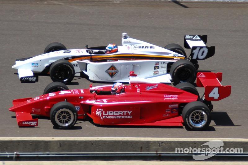Juan Pablo Garcia, Schmidt Peterson Motorsports and Alex Baron, Belardi Auto Racing