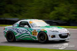 #27 Freedom Autosport Mazda MX-5: Liam Dwyer, Tom Long