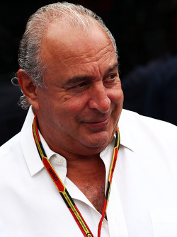 Sir Philip Green, Arcadia Group CEO
