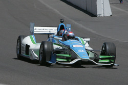Mario Andretti drives the two-seater