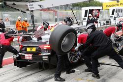Pitstop Timo Scheider, Audi Sport Team Phoenix Audi RS 5 DTM