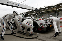 Pitstop Joey Hand, BMW Team RBM BMW M4 DTM
