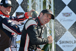 Will Power celebrates