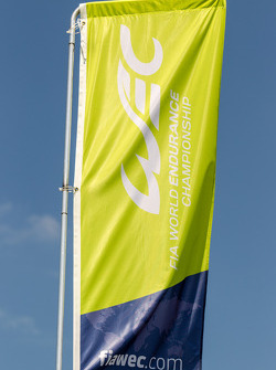WEC World Endurance Championship logo and flag