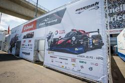 G-Drive Racing Morgan paddock area