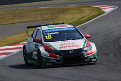 Tiago Monteiro, Honda Civic WTCC, Castrol Honda WTCC