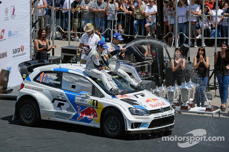Переможці Себастьян Ож'є та Жюльєн Іграссія, Volkswagen Polo WRC, Volkswagen Motorsport