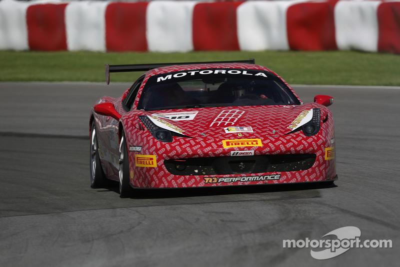 #318 Ferrari of Fort Lauderdale Ferrari 458: Gregory Romanelli