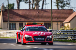Audi R8 safety car before qualifying session