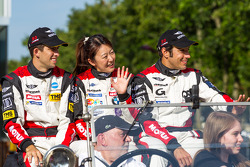 Pierre Ragues, Ricky Taylor, Keiko Ihara