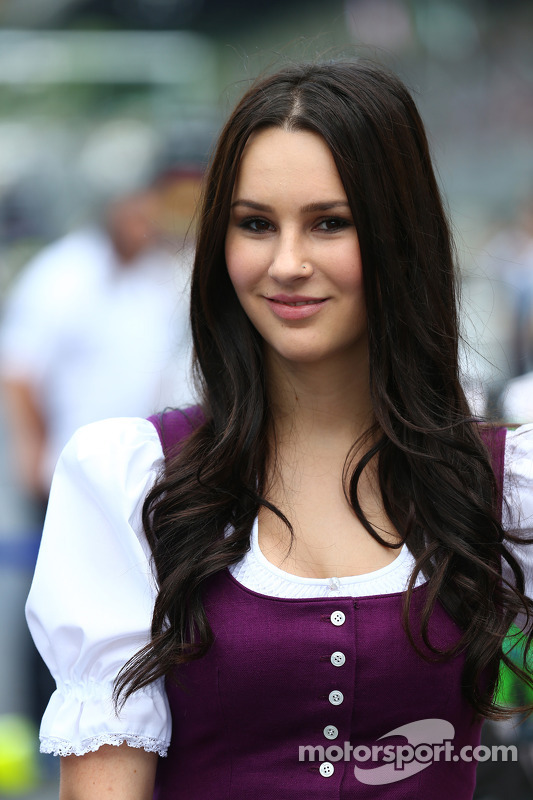 Grid girls at Austrian GP
