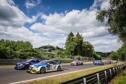 Start: #120 LMS Engineering Audi TT RS: Daniela Schmid, Christopher Tiger, Roland Botor, Constantin Kletzer
