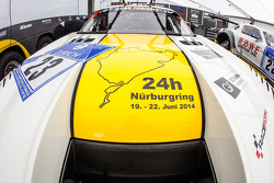 #23 Rowe Racing Mercedes-Benz SLS AMG GT3