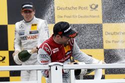 Podium, Jamie Green, Audi Sport Team Abt Sportsline Audi RS 5 DTM