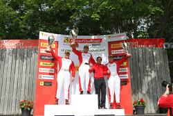 CS podium: winner Carlos Conde, second place Jon Becker, third place Chris Ruud