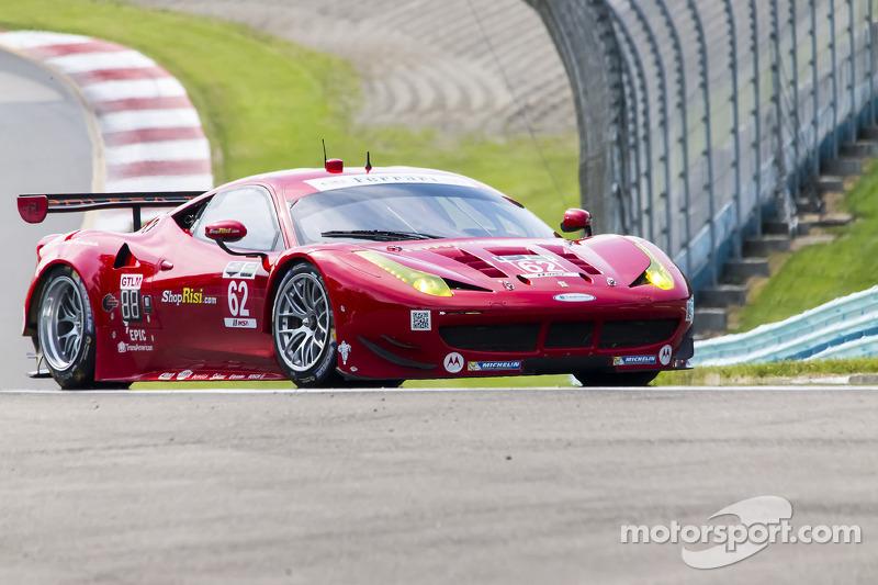 #62 Risi Competizione Ferrari F458: Olivier Beretta, Matteo Malucelli