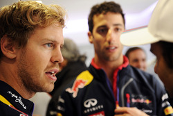 F1: Sebastian Vettel, Red Bull Racing with Daniel Ricciardo, Red Bull Racing