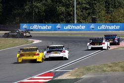Timo Glock, BMW Team MTEK BMW M3 DTM and Nico Müller, Audi Sport Team Rosberg Audi RS 5 DTM