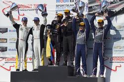 #42 OAK Racing, #3 Corvette Racing, #33 Riley Motorsports