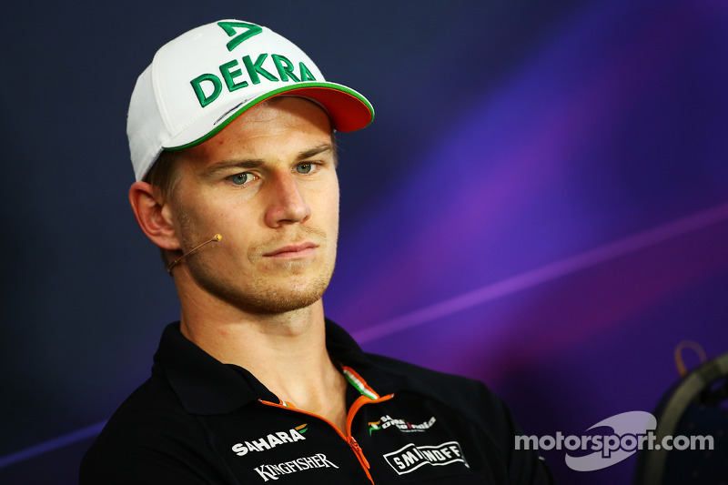 Nico Hulkenberg, Sahara Force India F1 in the FIA Press Conference