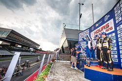GTC celebrations on the podium