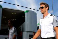 F1: Jenson Button, McLaren F1 Team