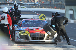 TUSC: #45 Flying Lizard Motorsports Audi R8 LMS: Nelson Canache, Spencer Pumpelly