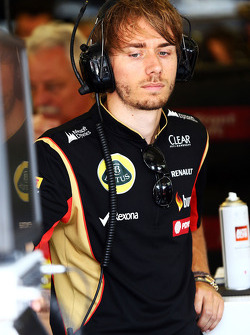 Charles Pic, Lotus F1 Team Third Driver