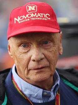 F1: Niki Lauda, Mercedes Non-Executive Chairman.