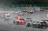Start of the race, Max Chilton, Marussia F1 Team